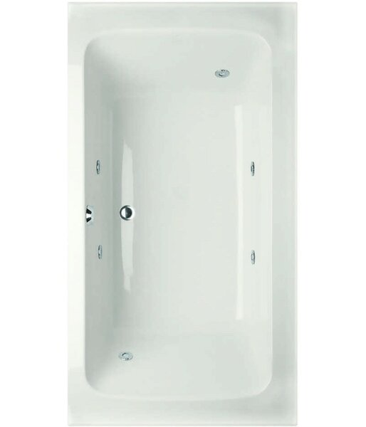 Designer Rachael 72 x 36 Whirlpool Bathtub by Hydro Systems