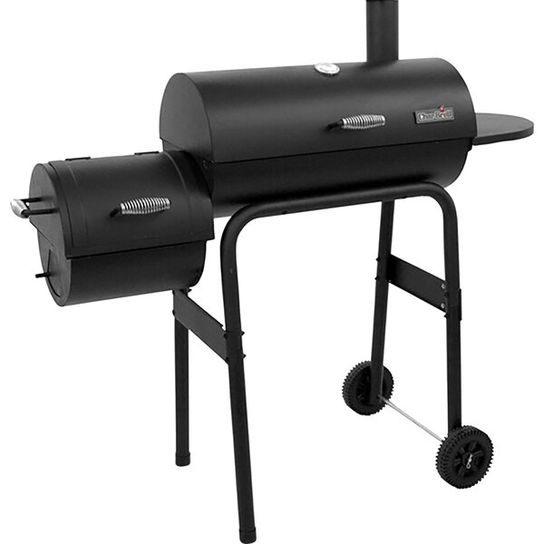 22 300 Series American Gourmet Offset Charcoal Grill with Smoker by Char-Broil