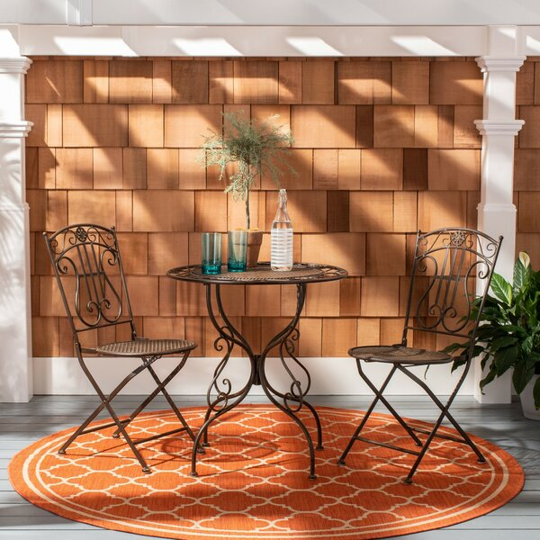 Colt 3 Piece Bistro Set by Bungalow Rose