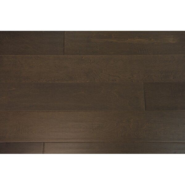 Helsinki 5 Engineered Birch Hardwood Flooring in Pewter by Branton Flooring Collection