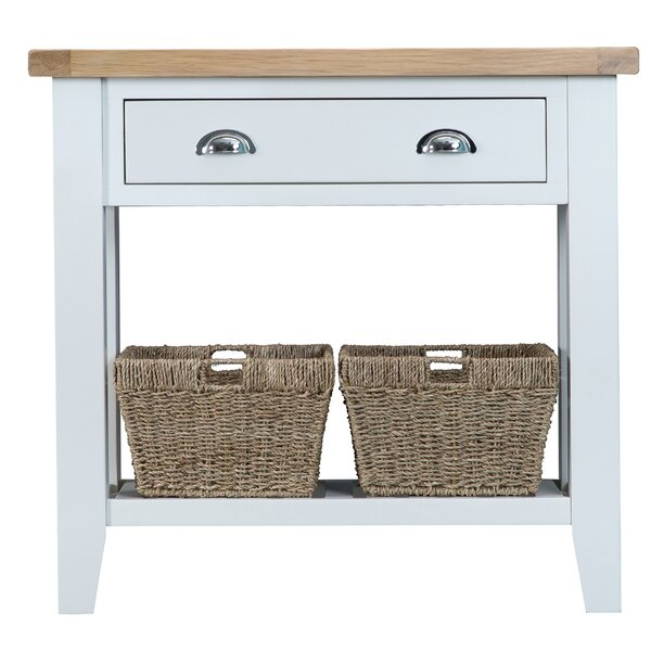Console With Baskets   Wayfair.co.uk