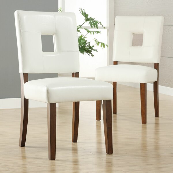 Cianchette Upholstered Dining Chair (Set of 2) by Ebern Designs Ebern Designs