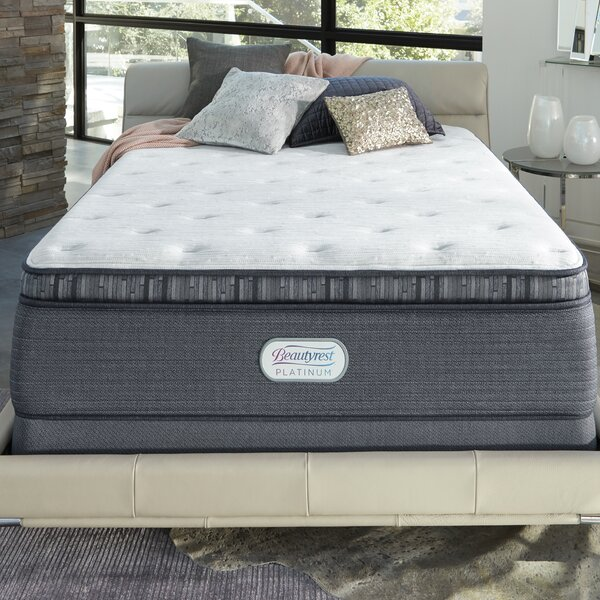 Beautyrest Platinum 15 Plush Pillow Top Innerspring Mattress and Box Spring by Simmons Beautyrest