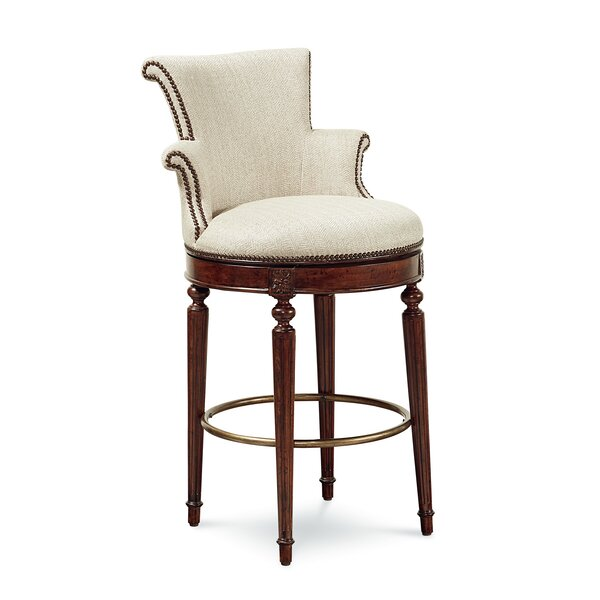 Autberry 30.5 Bar Stool with Cushion by Darby Home Co
