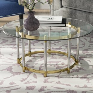 Compare Haydel Tempered Glass Coffee Table By Mercer41