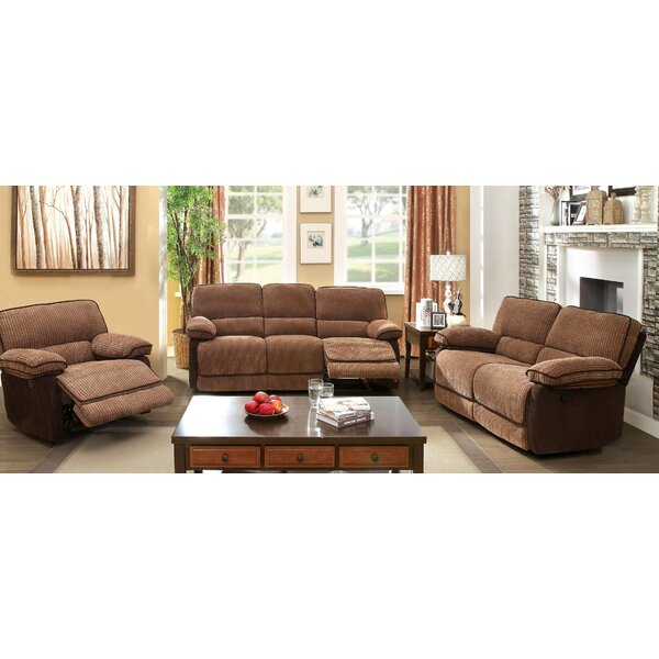 Denitze Reclining Configurable Living Room Set by Hokku Designs