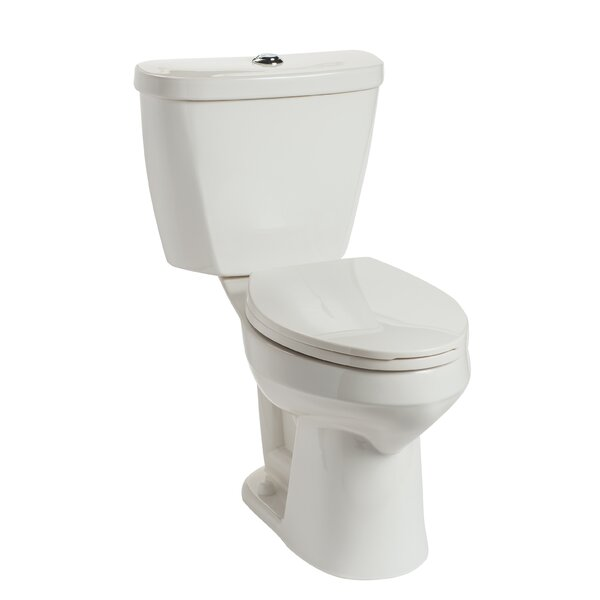 Summit HET SmartHeight Dual Flush Elongated Two-Piece Toilet by Mansfield Plumbing Products