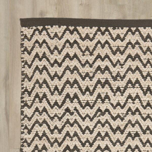 Millington Gray/Ivory Area Rug by Wrought Studio