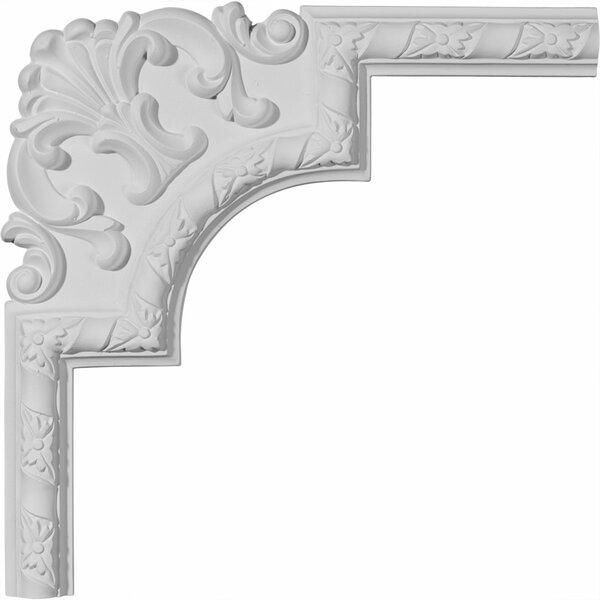 Kendall 13 1/2H x 13 1/2W Panel Moulding Corner II by Ekena Millwork
