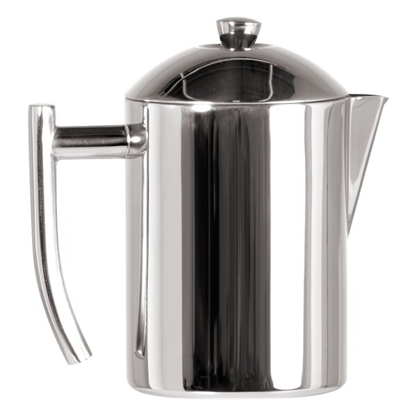 Stainless Steel 0.5-Quart Tea Maker with Infuser Basket by Frieling