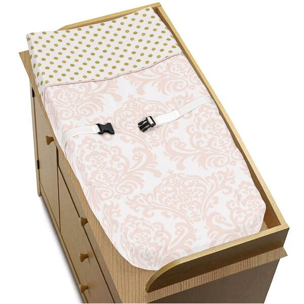 Amelia Changing Pad Cover by Sweet Jojo Designs