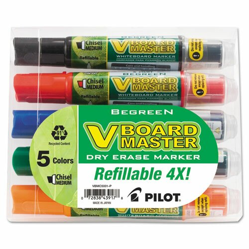 Begreen Dry Erase Marker (5 Pack) by Pilot
