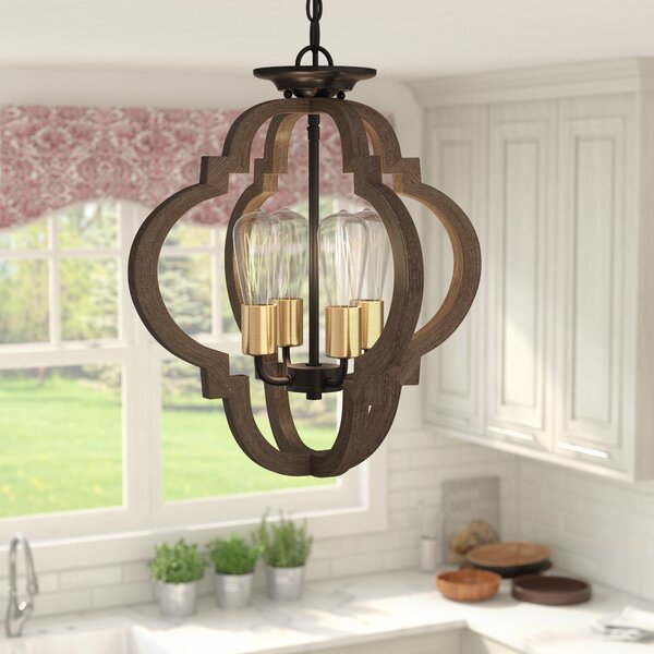 Tremiere 4-Light Chandelier by Lark Manor