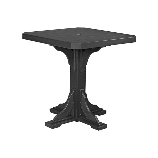 Stepanian Plastic Dining Table by Ebern Designs