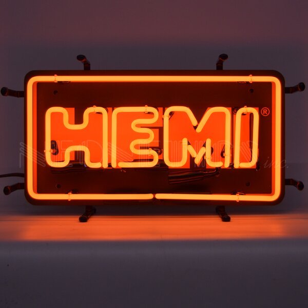 Hemi Junior Wall Light by Neonetics