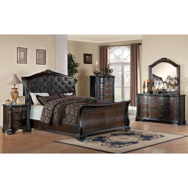 Broadview Upholstered Platform Bed by Fleur De Lis Living