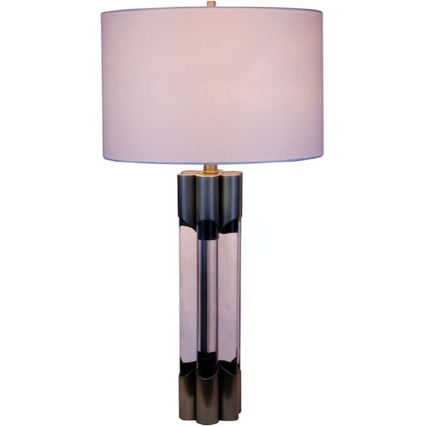 Blanco Finish Frame 31 Table Lamp by Brayden Studio