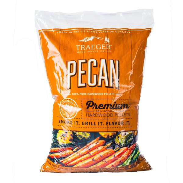 Traeger Pecan Hardwood Pellets by Traeger Wood-Fired Grills