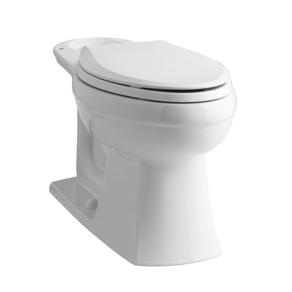 Kelston 1.28 GPF (Water Efficient) Elongated Toilet Bowl (Seat Not Included) by Kohler