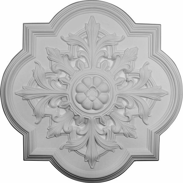 Bonetti 31 1/4H x 31 1/4W x 2D Ceiling Medallion by Ekena Millwork