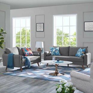 Paulette 2 Piece Living Room Set by Corrigan Studio®