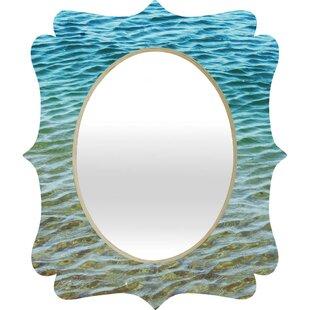 Deny Designs Shannon Clark Ombre Sea Quatrefoil Accent Mirror