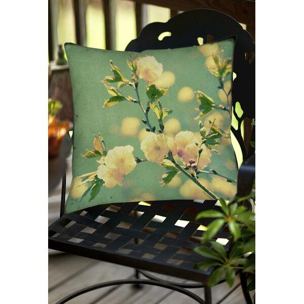 Vintage Botanicals 4 Indoor/Outdoor Throw Pillow by Manual Woodworkers & Weavers