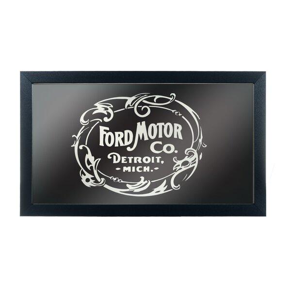 Vintage 1903 Ford Motor Co. Framed Graphic Art by Trademark Global