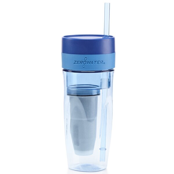 Portable 26 oz. Plastic Travel Tumbler by ZeroWater