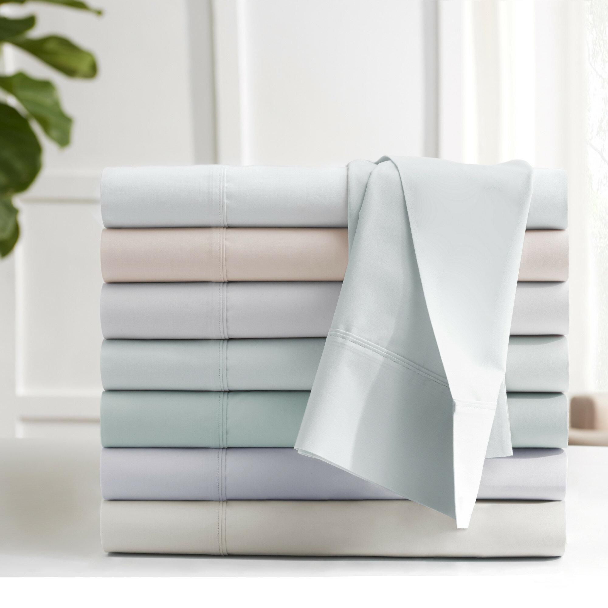Under the Canopy Edgelands 200 Thread 100% Cotton Sheet Set u0026 Reviews | Wayfair  sc 1 st  Wayfair & Under the Canopy Edgelands 200 Thread 100% Cotton Sheet Set ...