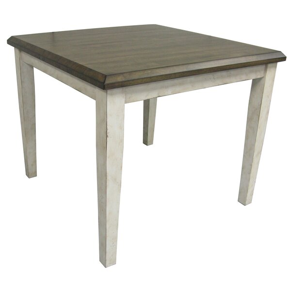 Culbertson Square Tapered Leg Dining Table by Ophelia & Co.