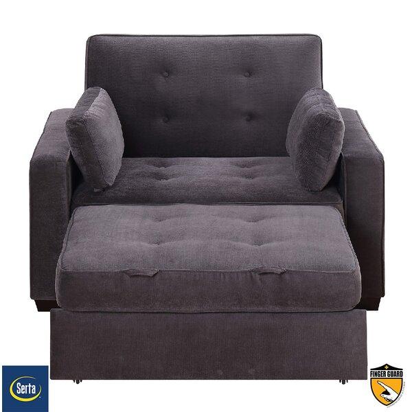 Serta Futons Serta Anderson Twin Convertible Chair U0026 Reviews | Wayfair