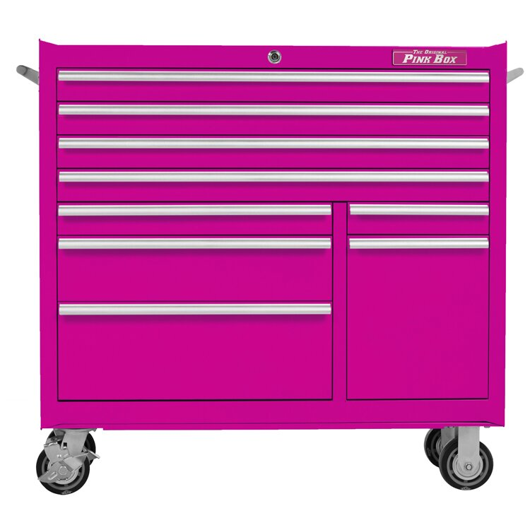 The Original Pink Box 41 Quot W 9 Drawer Tool Chest Amp Reviews