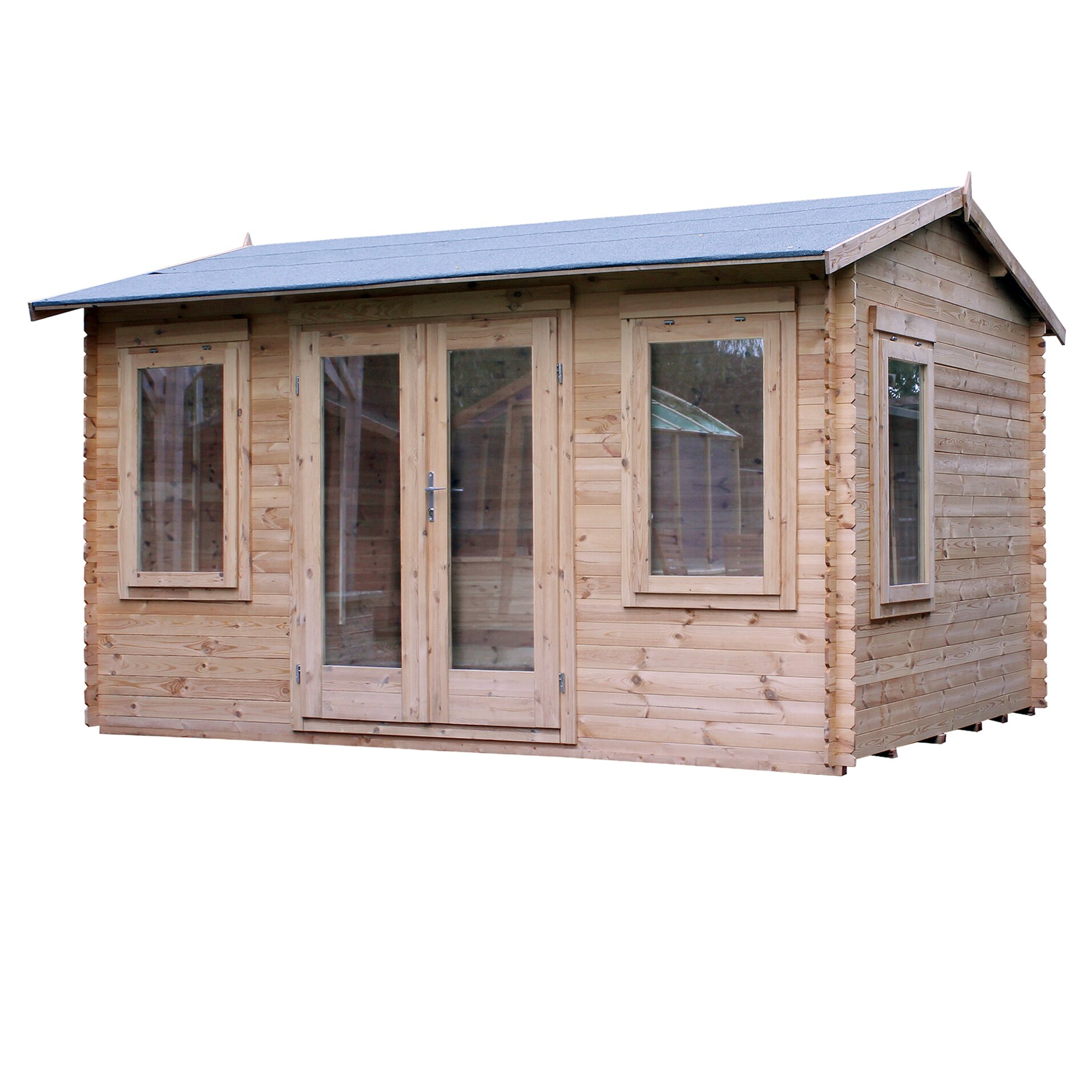 Home Essence 13 X 10 Ft Log Cabin