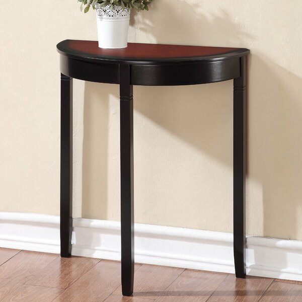 Small Demilune Hall Table brilliant small demilune hall table with for decorating ideas