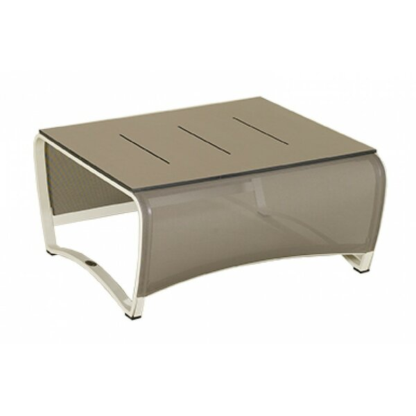 Jet Stream Metal Coffee Table by Les Jardins