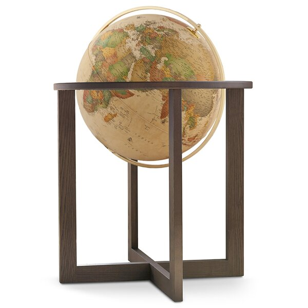 Illuminated Floor Globe by Darby Home Co