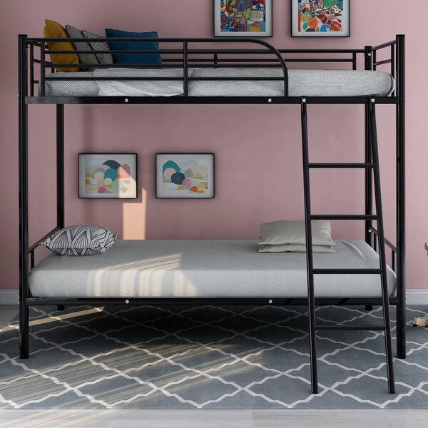 Jarmon Twin Over Twin Bunk Bed by Harriet Bee
