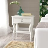 Kira 1 - Drawer Solid Wood Nightstand by Beachcrest Home™