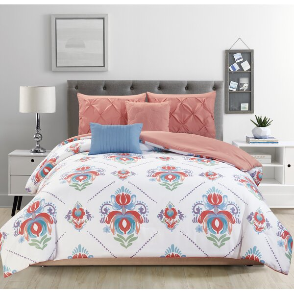 Potrero Reversible Comforter Set by Bungalow Rose