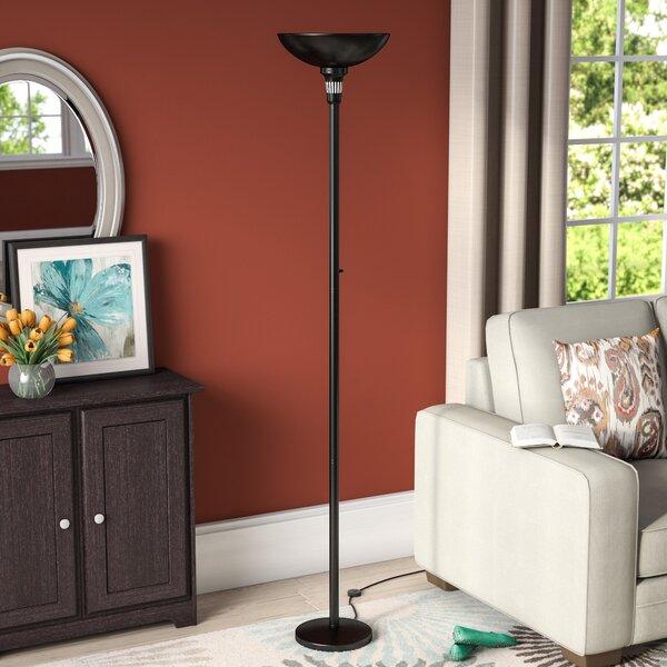 Ellyn 71 Torchiere Floor Lamp by Red Barrel Studio