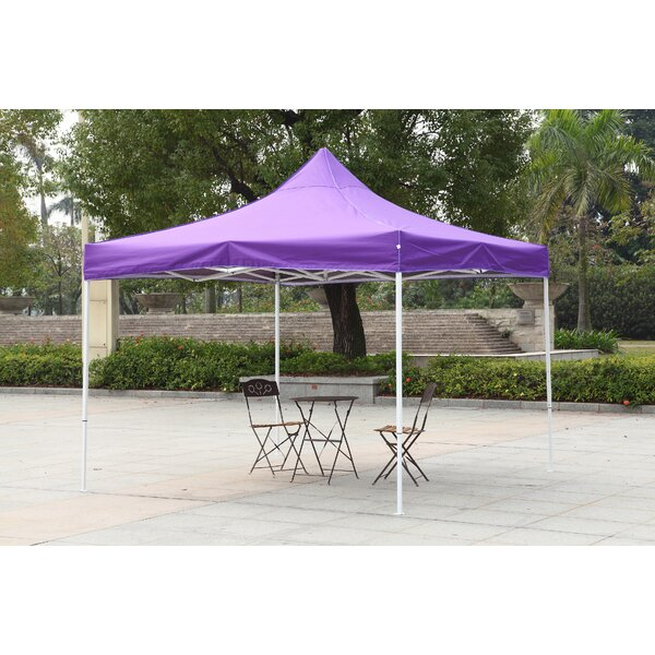 10 Ft. W x 10 Ft. D Metal Pop-Up Canopy by America