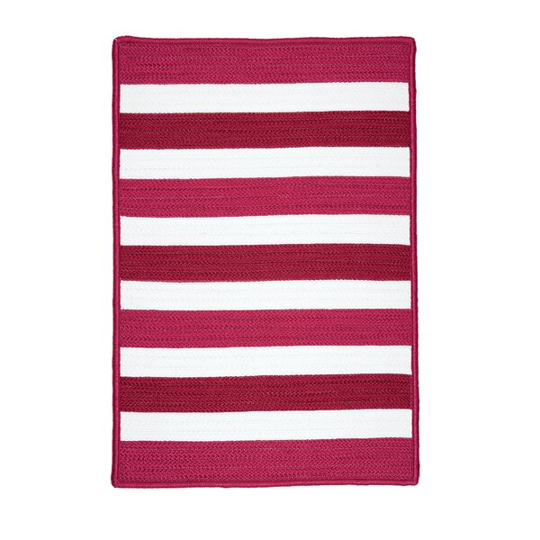 Eagle Lake Striped Indoor/Outdoor Area Rug by Beachcrest Home