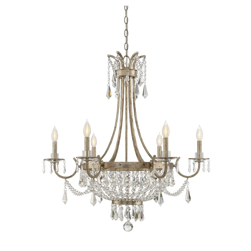 Light Candle Style Empire Chandelier