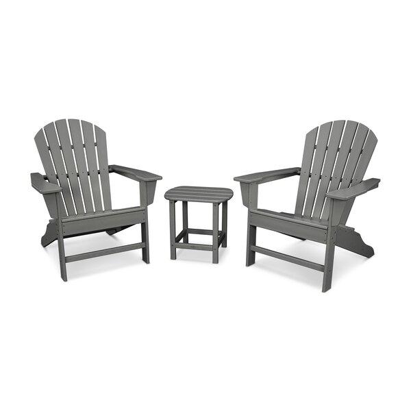 South Beach Adirondack 3-Piece Seating Group by POLYWOOD POLYWOOD®