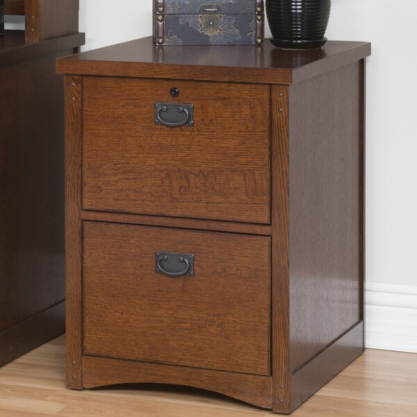 Mission Pasadena 2-Drawer Vertical File by Martin Home Furnishings