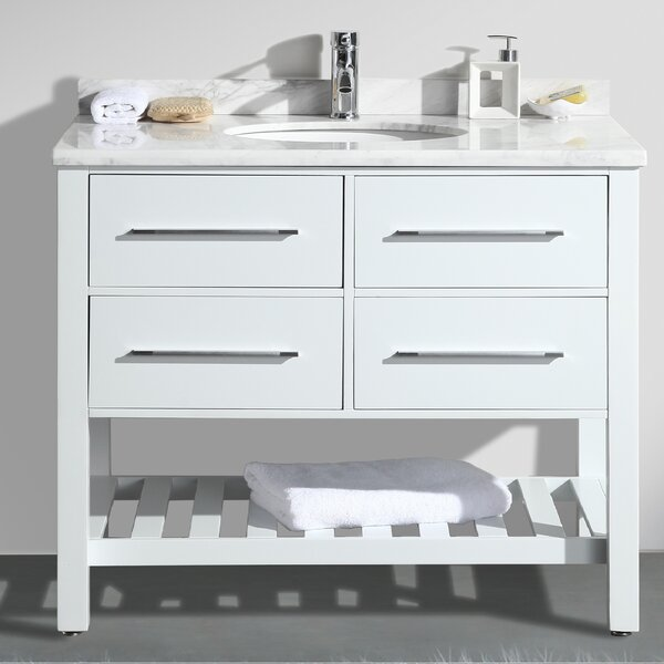 Keighley 42 Single Bathroom Vanity Set by Highland Dunes