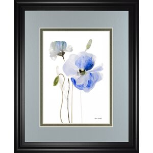 'All Poppies I' by Lanie Loreth Framed Painting Print by Classy Art Wholesalers