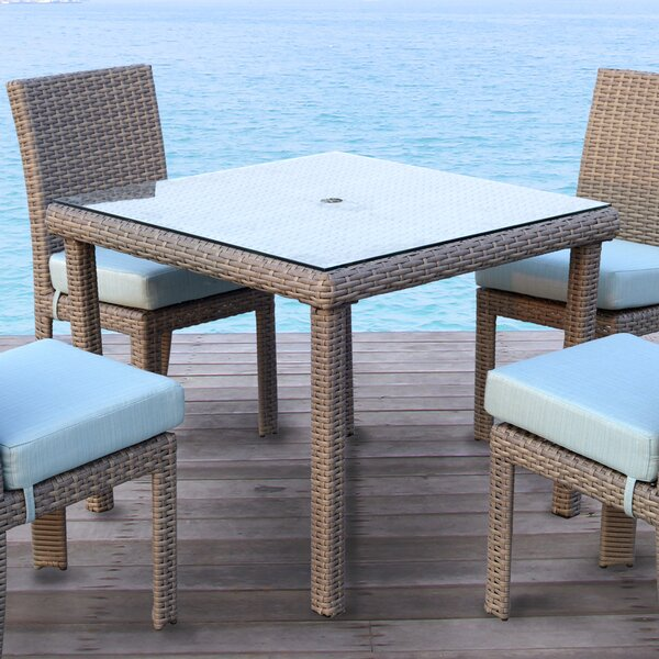 Sperry Patio Dining Chair with Cushion by Bay Isle Home