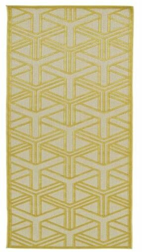 Bainsbury Gold Indoor/Outdoor Area Rug by Wildon Home ®